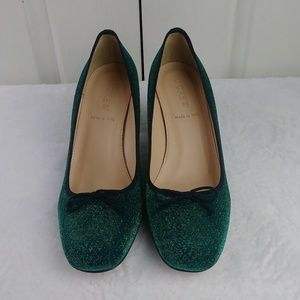 J. Crew Sophia Pumps in Glitter - NWOB